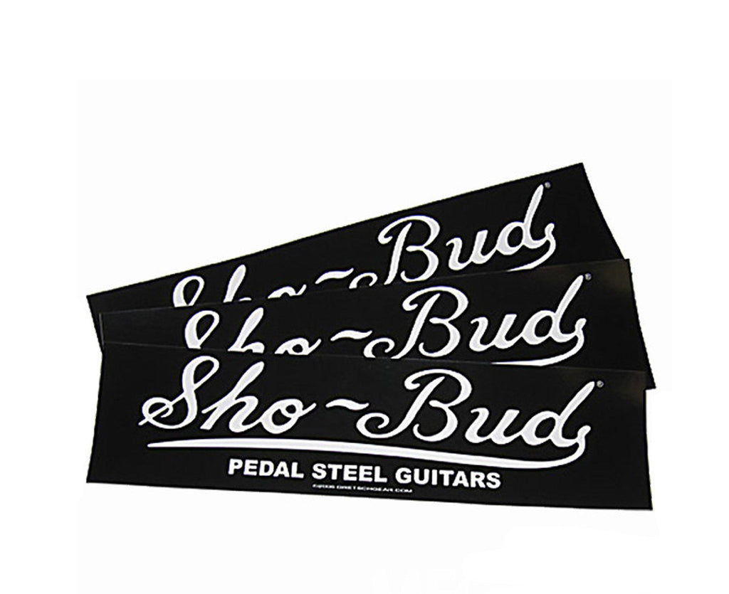 Gretsch Sho-Bud Bumper Sticker - One Sticker Per Order Sticker / Decal Gretsch Gear