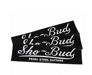 Gretsch Sho-Bud Bumper Sticker - One Sticker Per Order - Megatone Music