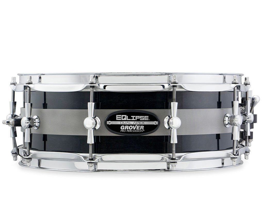 "Grover Pro Percussion EQlipse Dual Apex Snare Drum 5""x14"" - Megatone Music"