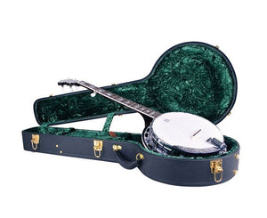 Recording King CG-044K-J Vintage Hardshell Resonator Banjo Case