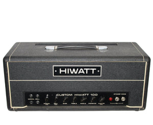 "Hiwatt Custom 100 DR103 1973 ""Hylight Era"" Serial# 4140 - Megatone Music"