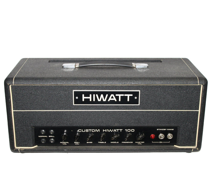 "Hiwatt Custom 100 DR103 1973 ""Hylight Era"" Serial# 4140"
