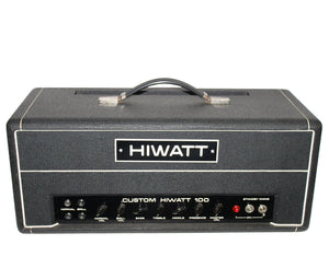 "Hiwatt Custom 100 DR103 1974 ""Hylight Era"" Serial# 5962 - Megatone Music"