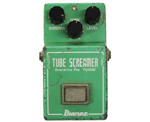 Ibanez TS-808 Tube Screamer Overdrive Pro - 1981