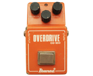 Ibanez OD-850 Overdrive 1981 - Made in Japan Overdrive Ibanez