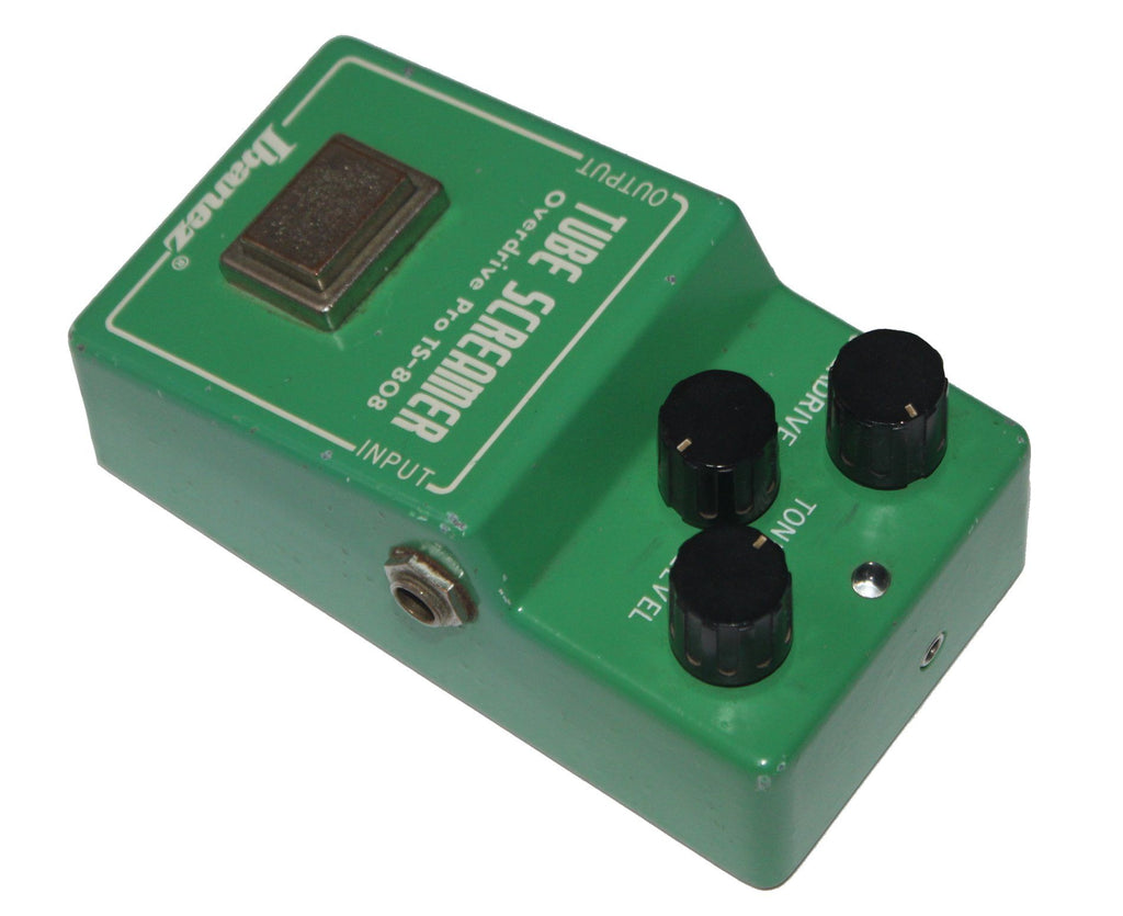 Ibanez TS-808 Tube Screamer Overdrive Pro - Super Rare NEC C4558C Chip 1981 - Megatone Music