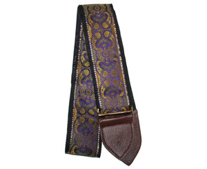 "Jodi Head NYC 2.5"" Purple Gypsey Custom Guitar Strap - Megatone Music"