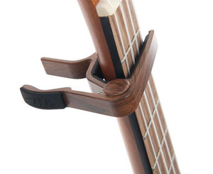 Kala Ukulele Capo in Walnut - Megatone Music
