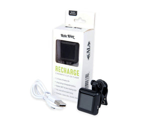 Kala Klipz Rechargeable Clip-On Chromatic Tuner in Black