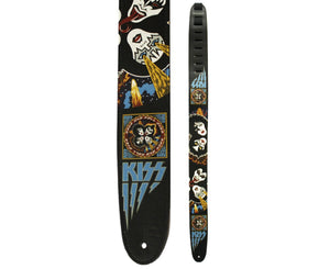"Perri's 2.0"" Kiss Rock and Roll Over Guitar Strap - Megatone Music"