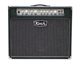 Koch Jupiter J45C 45W 1x12 Tube Hybrid Guitar Combo Amp British Racing Green Combo Amps Koch