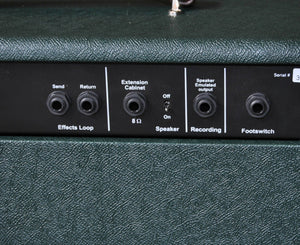 Koch Jupiter Junior 20W 1x10 Tube Hybrid Guitar Combo Amp British Racing Green