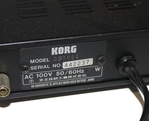 Korg SDD-3000 Vintage Digital Delay Serial# 442237 - Megatone Music