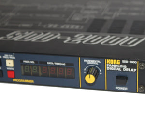 Korg SDD-2000 Vintage Digital Delay - Megatone Music
