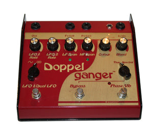 Lovetone Doppelganger Phase and Vibrato Pedal Phaser Lovetone