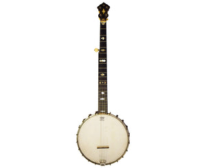 Lyon and Healy Mystic Professional 5-String Open-Back Banjo Circa 1900