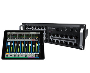 Mackie DL32R DL Series 32-Ch Rackmount Digital Mixer w/Wireless iPad Control Digital Mixer Mackie