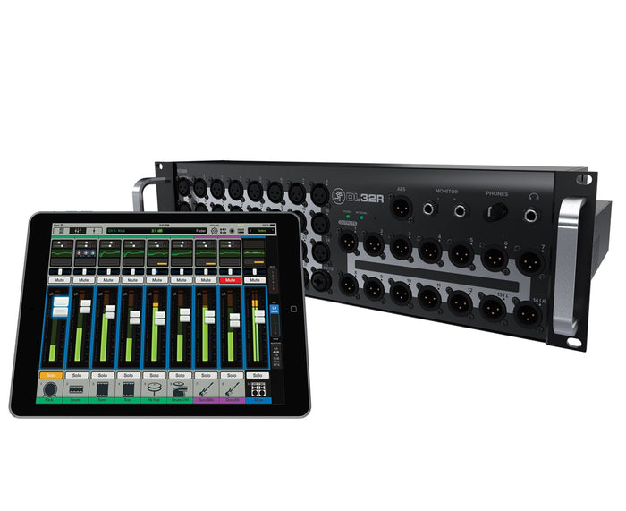 Mackie DL32R DL Series 32-Ch Rackmount Digital Mixer w/Wireless iPad Control