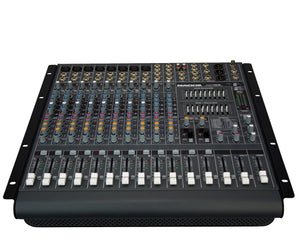 Mackie PPM1012 Professional 12-Channel 1600W Powered Mixer Powered Mixer Mackie