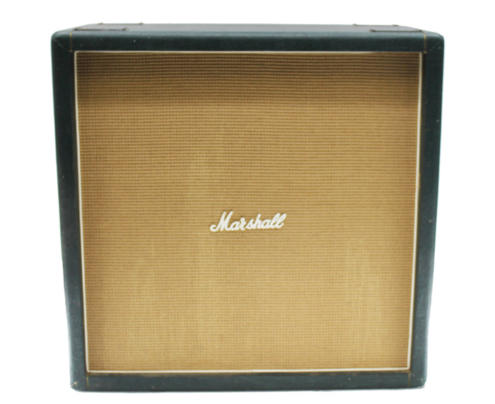 "Marshall Basket Weave 1982B 4 x 12"" Straight Cabinet - Celestion G12 Gold's"