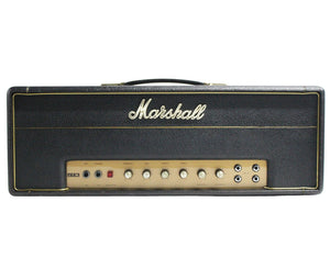 Marshall 1967 JTM 50 Black Flag Logo - Features the GZ34 Tube Rectifier Amps Marshall