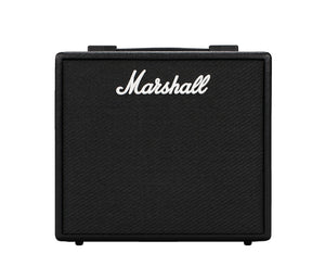 "Marshall Code25 25W, 1x10"" digital combo w/100 presets, Bluetooth and USB - Megatone Music"