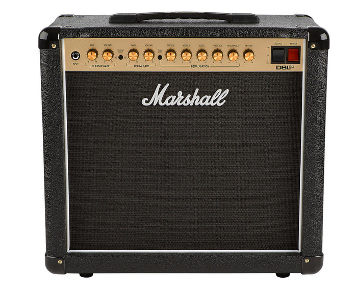 "Marshall DSL20CR 20-Watt 1x12"" Tube Guitar Combo Amplifier"