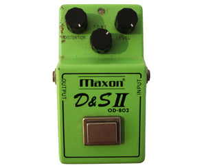 Maxon 1982 D&S II OD-802 Overdrive Made in Japan - Megatone Music