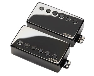"EMG JH James Hetfield ""Het"" Set Active Humbucker Guitar Pickup Set in Black Chrome Pickups EMG"