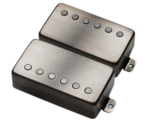 "EMG JH James Hetfield ""Het"" Set Active Humbucker Guitar Pickup Set in Brushed Black Chrome Pickups EMG"