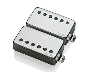"EMG JH James Hetfield ""Het"" Set Active Humbucker Guitar Pickup Set in Brushed Chrome Pickups EMG"