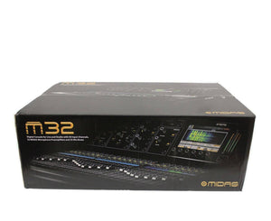 Midas M32-IP 40 Channel Digital Console for Live and Studio