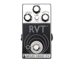Mojo Hand FX RVT Reverb, Vibe, and Tremolo Effects Pedal - Megatone Music