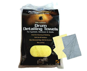 Music Nomad MN210 Drum Detailer Towel 2 Pack - Megatone Music