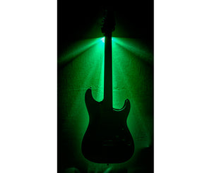 MuzicLight Green Light Guitar Wall Hanger