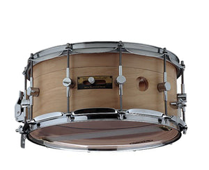 "Odery Snare Drum ""Air Control System"" 14 x 6.5"" in Maple/Nyatoh Natural - Megatone Music"