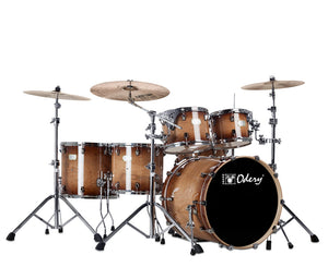 "Odery ""Fluence"" 401 Fusion 6-Piece Drum Sets with Hardware in Magma Vintage - Megatone Music"