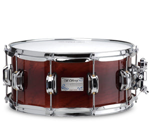 Odery Snare Drum Eyedentity Series 14 x 6.5 in Sapele Explosion - Megatone Music