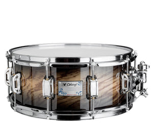 Odery Snare Drum Eyedentity Series 13 x 4.5 in Birch/Tigerwood Trans Black Snare Drum Odery Drums