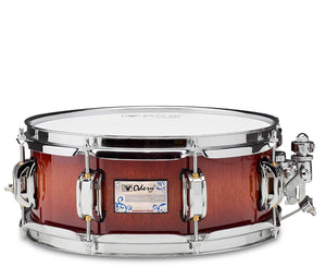 Odery Snare Drum Eyedentity Series 12 x 5 Nyatoh Red River - Megatone Music