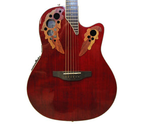 Ovation CE48-RR Celebrity Elite Super Shallow Acoustic-Electric Guitar w/ OHSC - Megatone Music