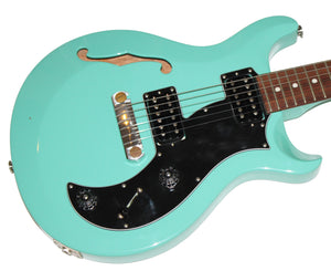 Paul Reed Smith S2 Mira Semi-Hollowbody in Seafoam Green w/ PRS Gig Bag
