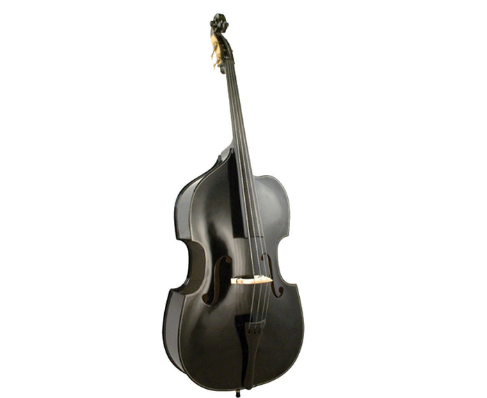Palatino VB-015-3/4BK Cutaway Upright Bass, 3/4, Black