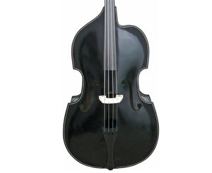 Palatino VB-015-3/4BK Cutaway Upright Bass, 3/4, Black - Megatone Music