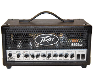"Peavey 6505MH ""Mini Head"" 2 Channel 20w Tube Amp"