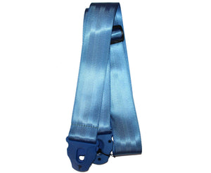 "Perri's 2.0"" Seatbelt Locking Guitar Strap in Blue - Megatone Music"
