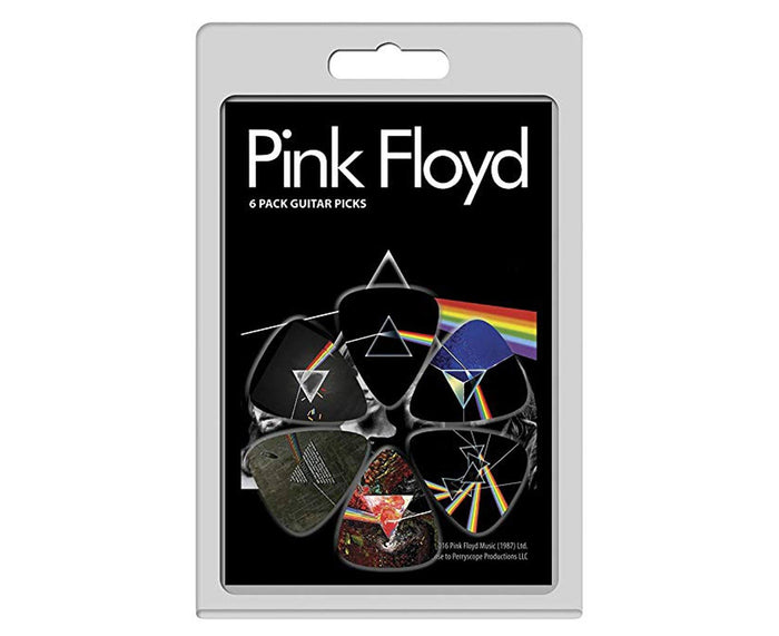 "Perri's Pink Floyd ""Dark Side of the Moon"" Guitar Pick 6-Pack .71 mm"