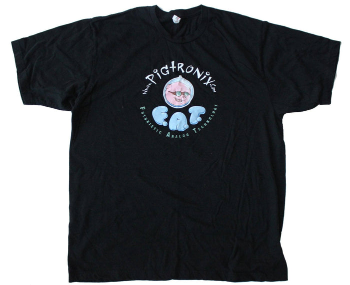 Pigtronix Black Tee in XL