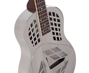 Recording King RM-991-S Tricone Resonator Guitar with Squareneck - Free Rock Slide Resonator Recording king