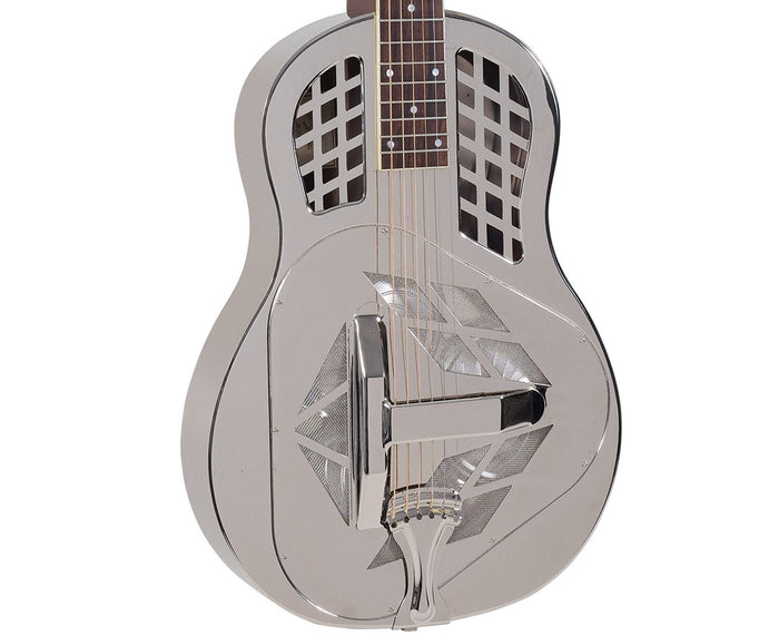Recording King RM-991-S Tricone Resonator Guitar with Squareneck - Free Rock Slide